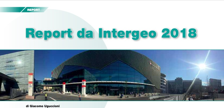 Report da Intergeo 2018